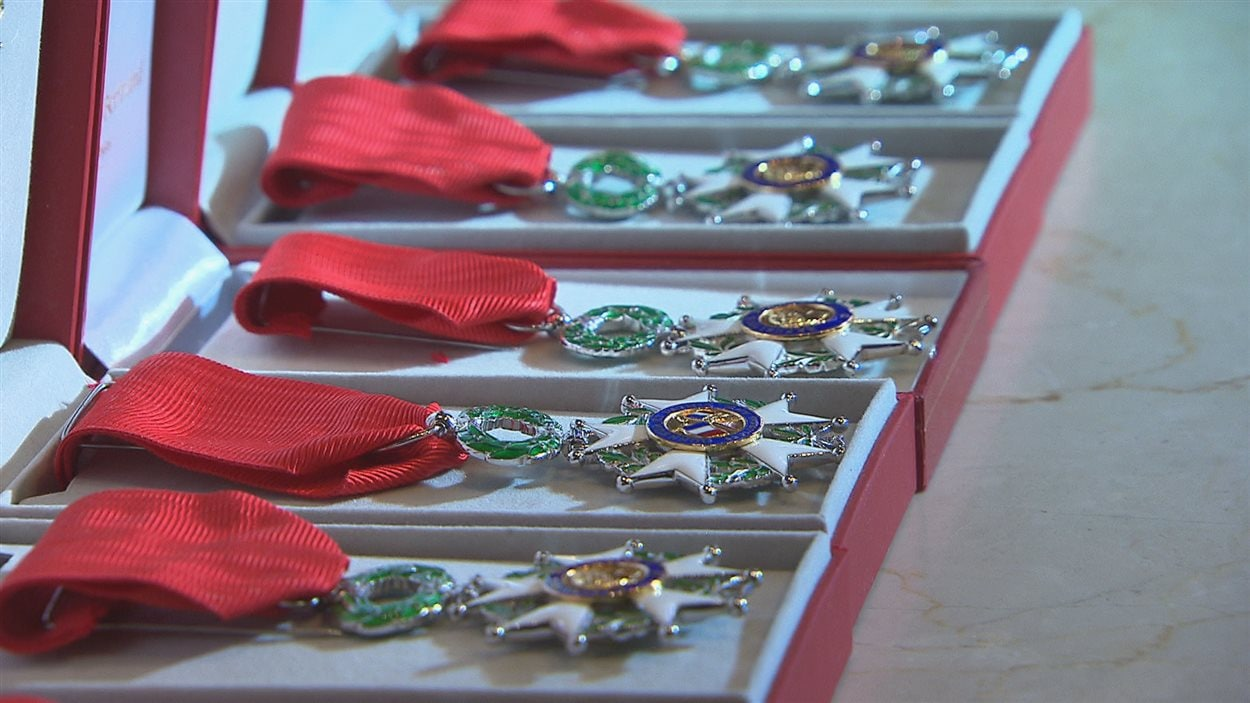 La médaille de la Légion d'honneur