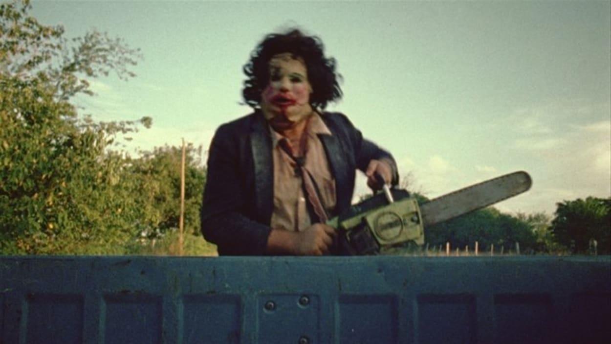 Une scène du film «Massacre à la tronçonneuse»