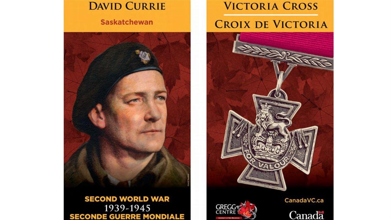 David Currie a reçu la Croix de Victoria lors de la Deuxième Guerre mondiale