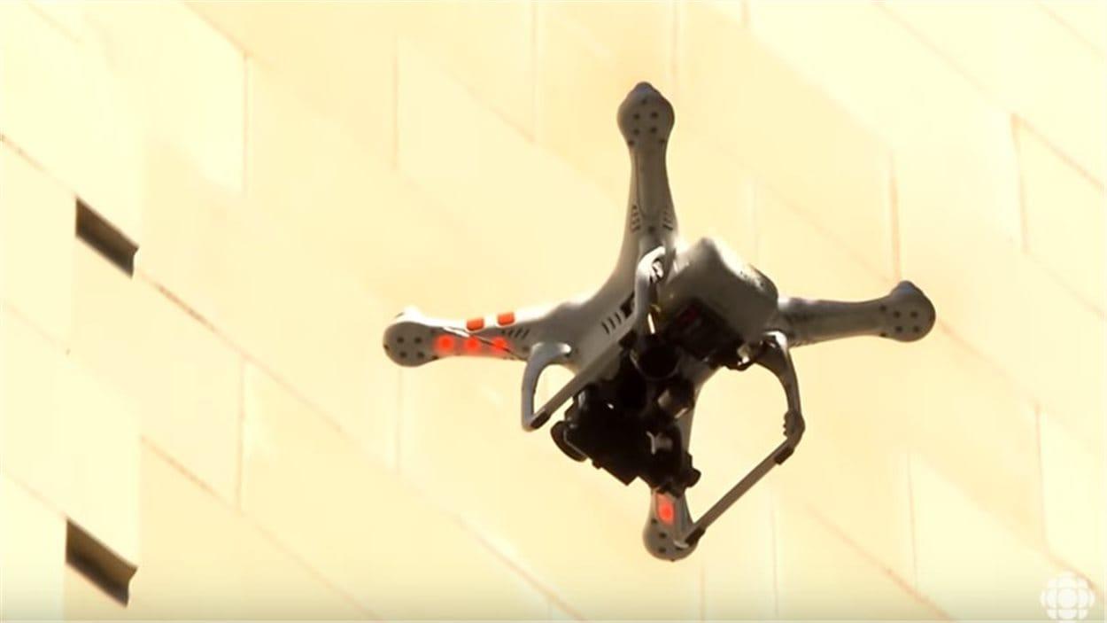 Un drone pour inspecter les bâtiments