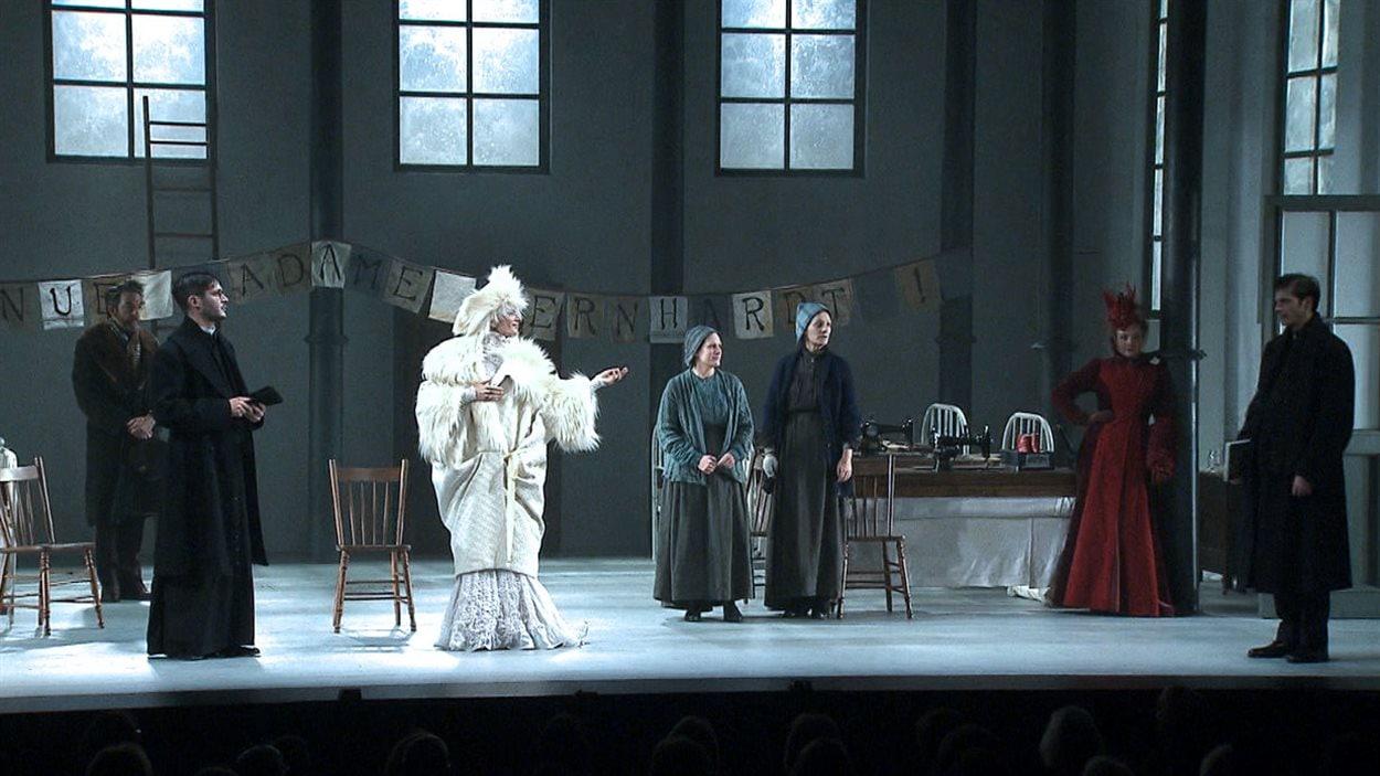 La pièce « La divine illusion », écrite par Michel Marc Bouchard et mise en scène par Serge Denoncourt