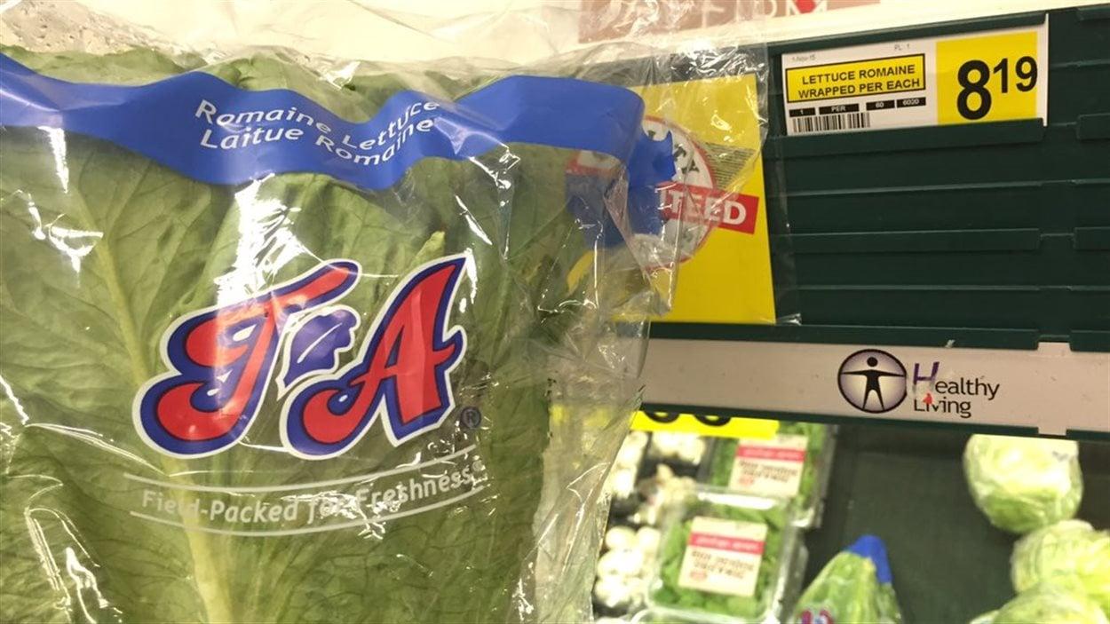 8,19$ pour une tête de laitue dans une épicerie de Churchill, au Manitoba