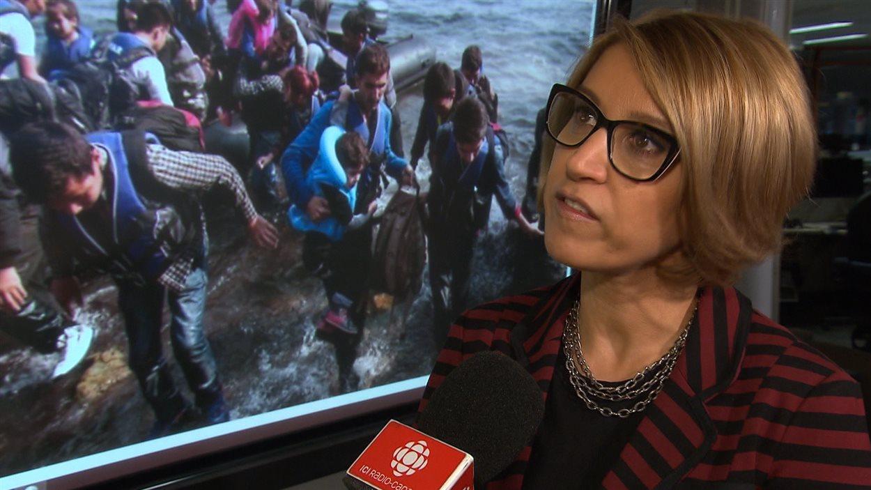 Lida Aghasi, directrice générale du Centre social d'aide aux immigrants (CSAI)