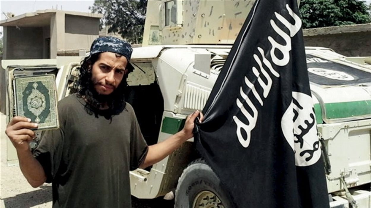 An undated photograph of Abdelhamid Abaaoud, a Belgian national currently in Syria, suspected of being behind Friday's attacks in Paris.