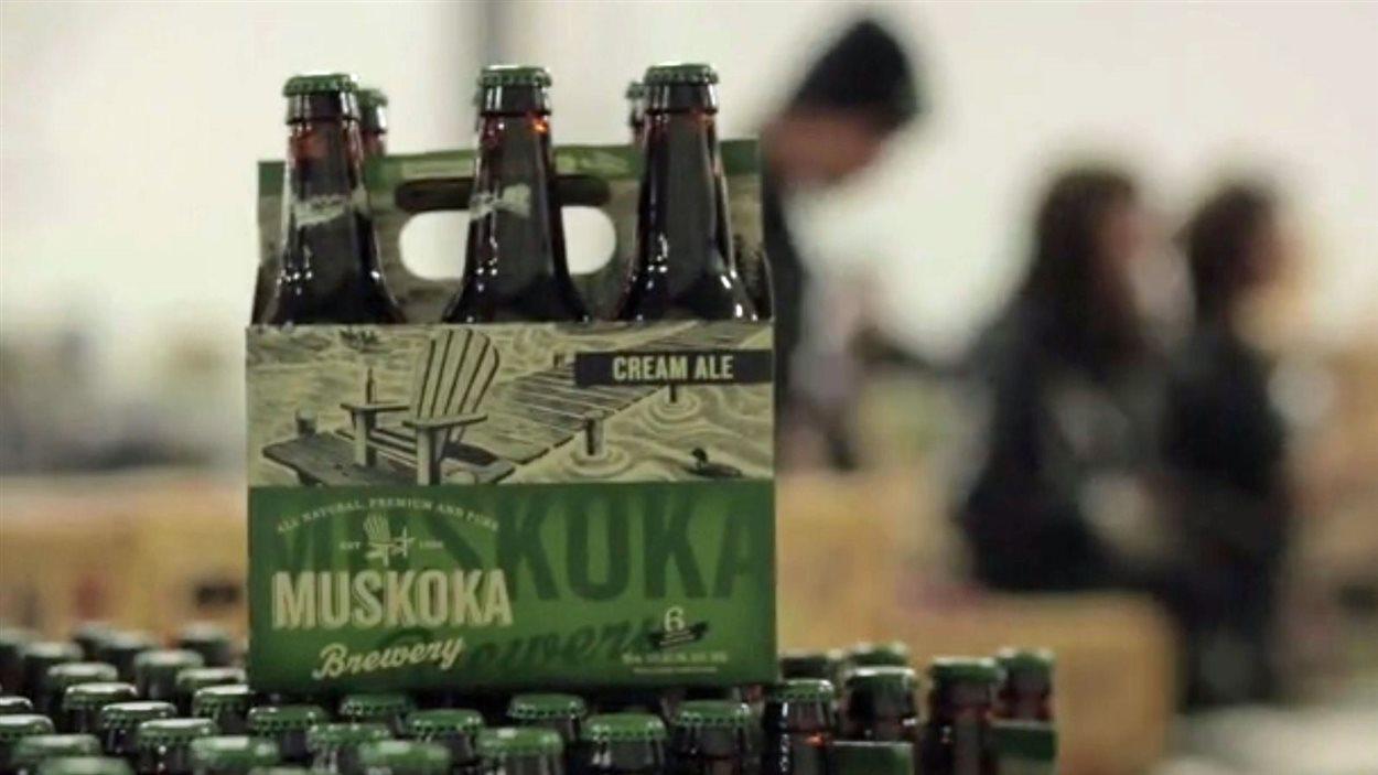 Le brasseur Muskoka Brewery est établi à Bracebridge