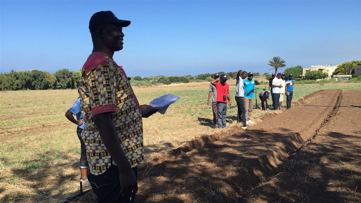 Aimé Doulgue, un Tchadien en visite
