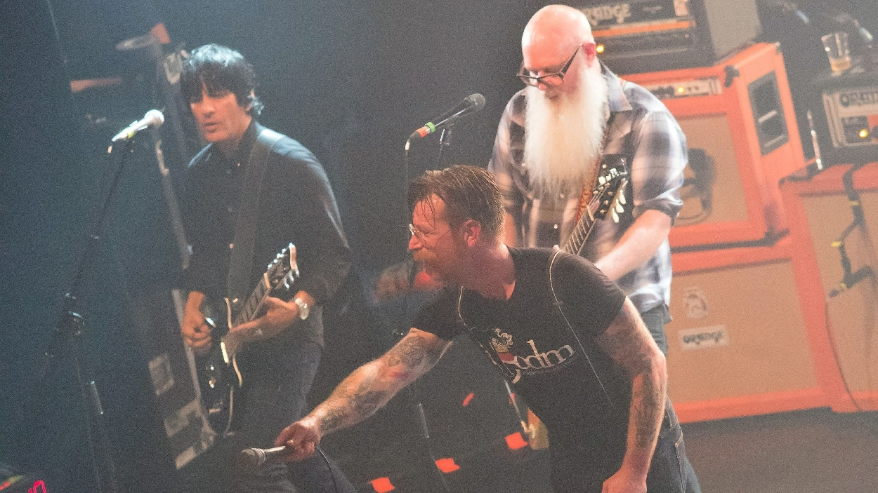 Eagles of Death Metal sur scène au Bataclan de Paris le 13 novembre 2015