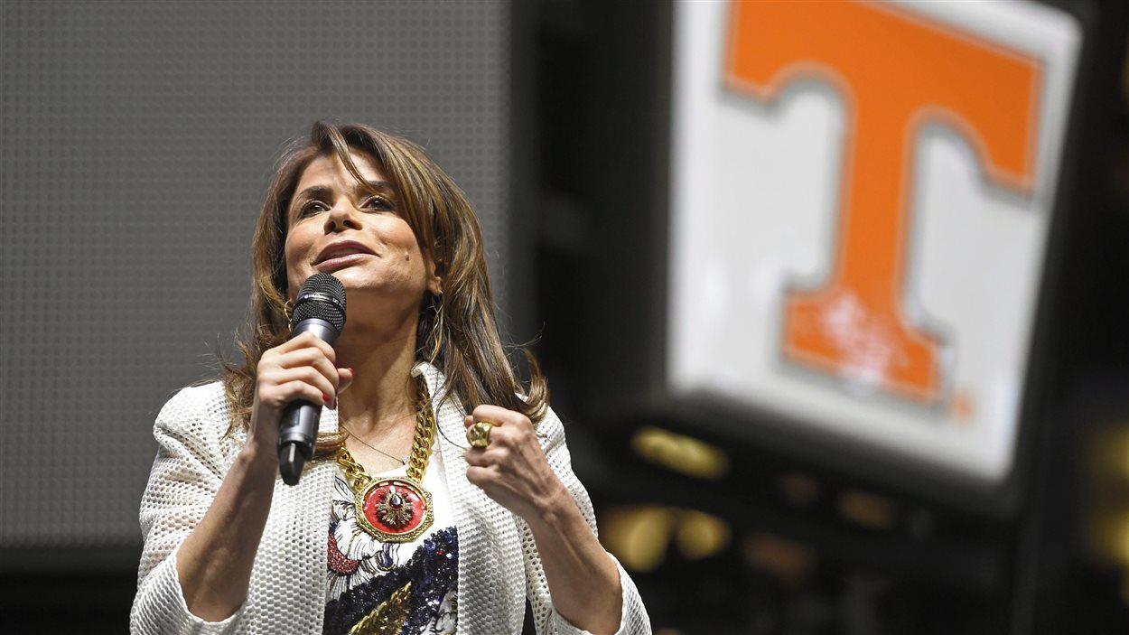 La chanteuse Paula Abdul.