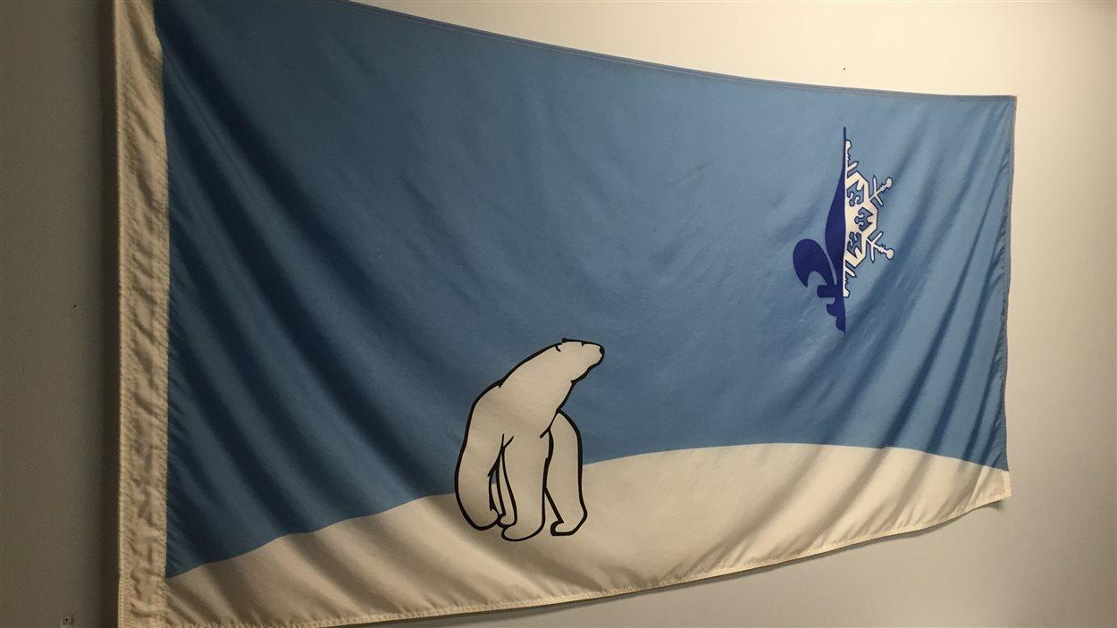 Le drapeau franco-ténois