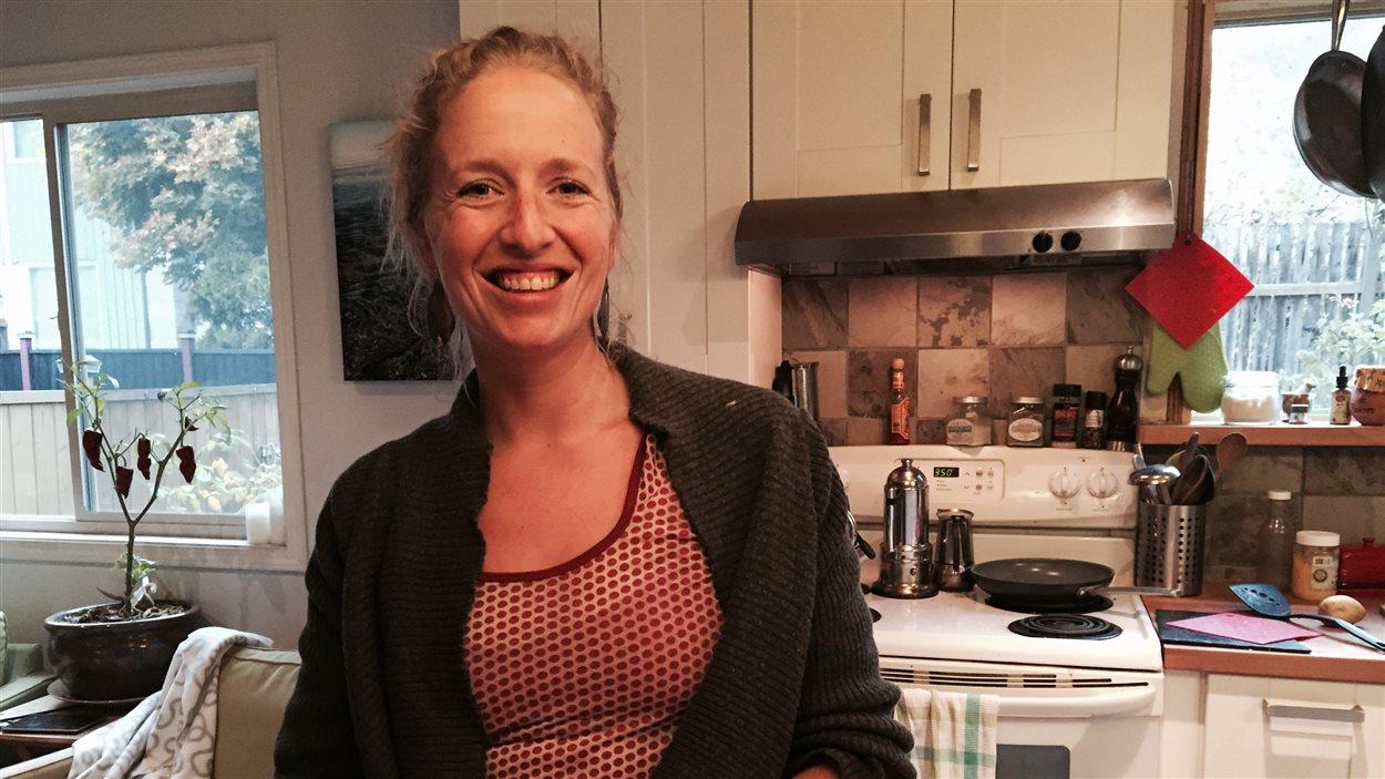 Élodie Brideau de Revelstoke en Colombie-Britannique
