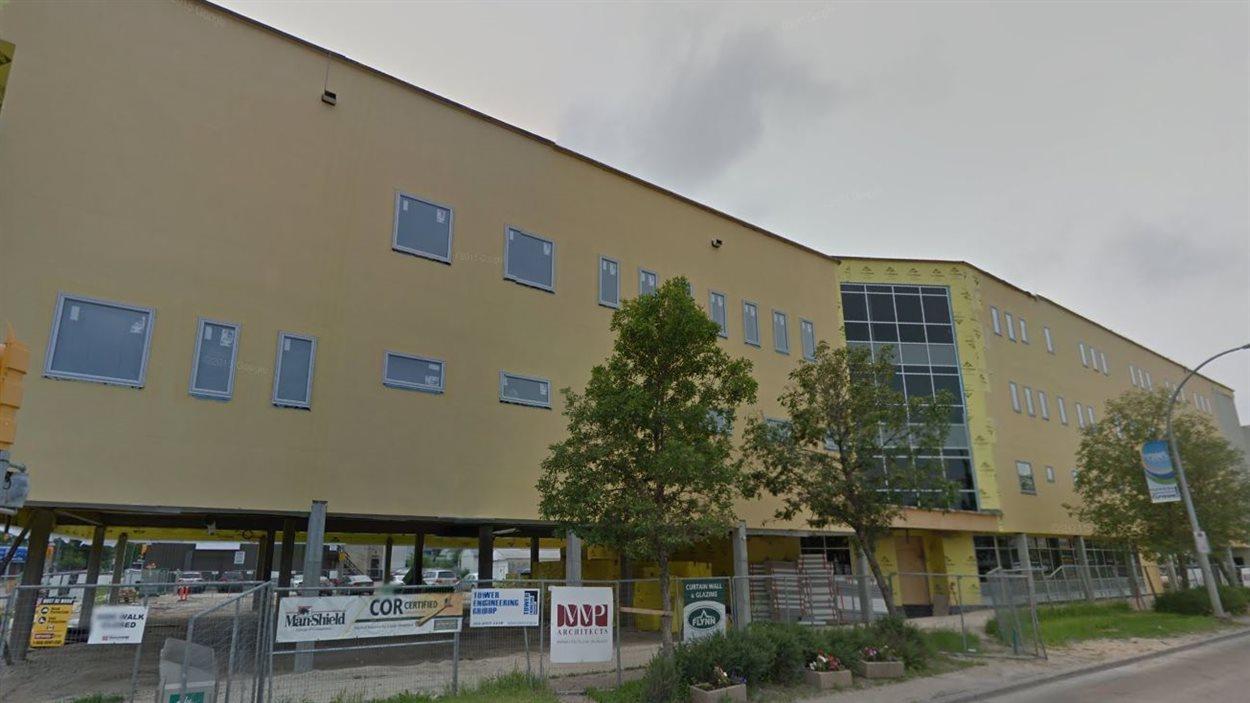 Le futur centre d'accès médical de Saint-Boniface