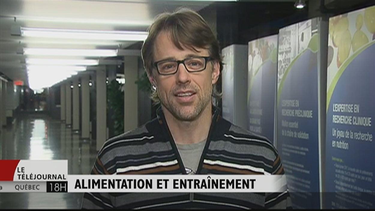 Le chercheur en nutrition Benoît Lamarche, de l'Université Laval.