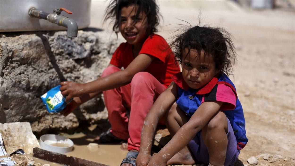 Le camp de réfugiés syriens Al Zaatari, en Jordanie