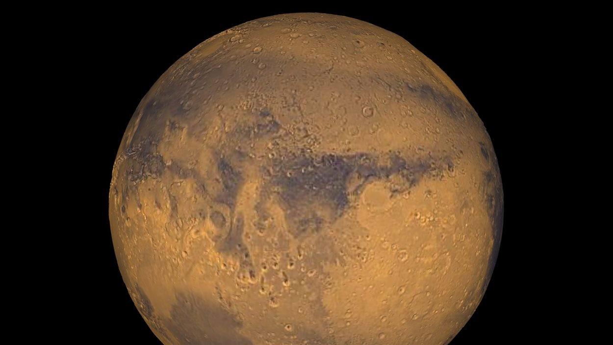 La planète Mars pourrait bien changer d'allure d'ici 40 millions d'années.