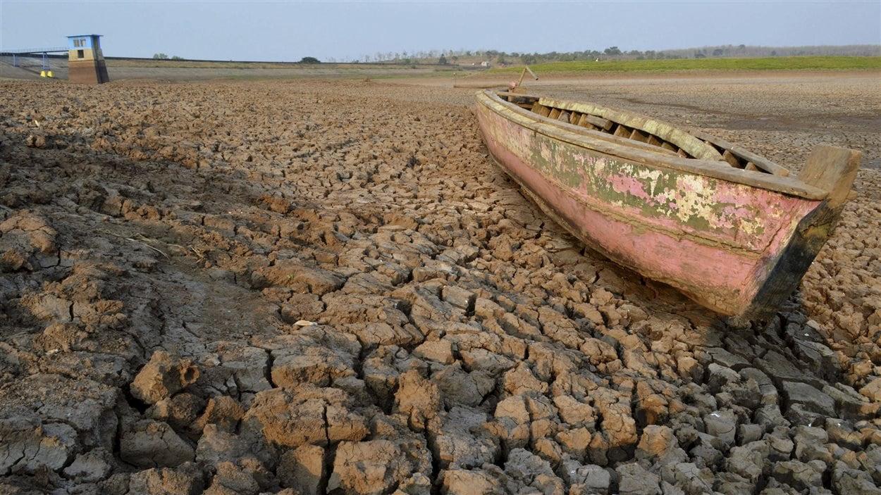 La sécheresse provoquée par El Niño a des impacts sur l'économie de Java dans l'est de l'Indonésie.