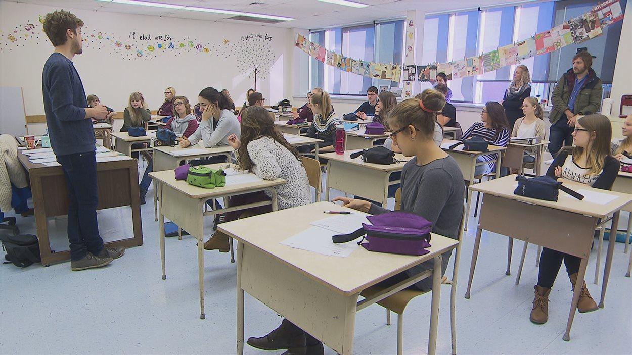 Le projet Nos forêts chantées à l'école Jean-du-Nord de Sept-Îles