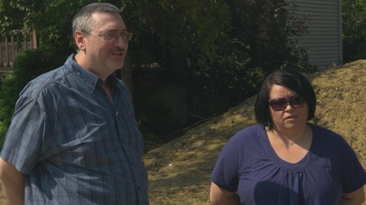 François Angers et Patricia Racicot