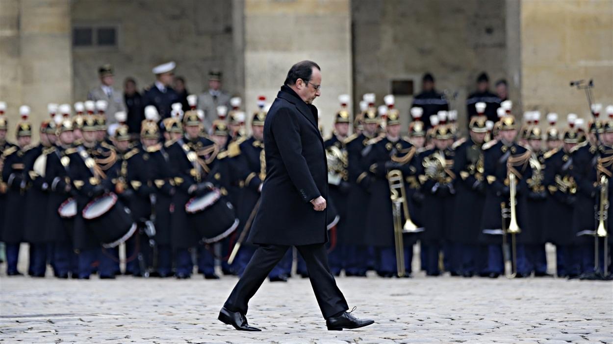 François Hollande aux Invalides