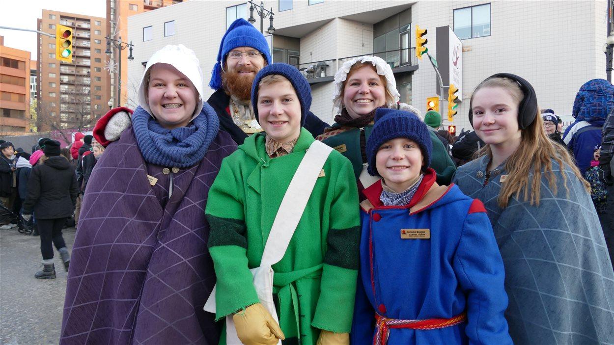 La famille Sorin, Voyageurs officiels 2015-2016.