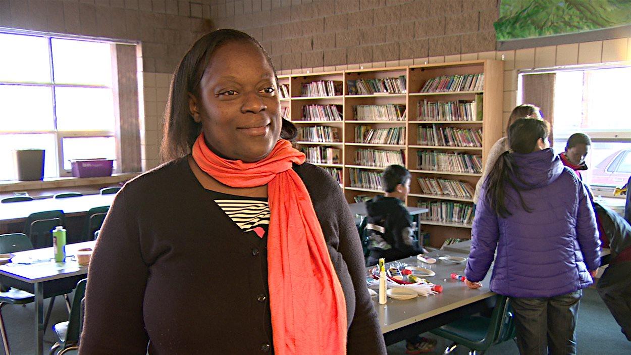 Sylvie Mékoulou, mère de famille.
