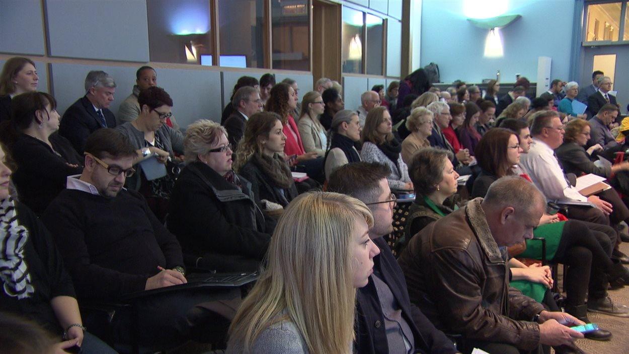 Une quarantaine d'organismes communautaires d'Ottawa ont participé au comité des services communautaires de la ville.