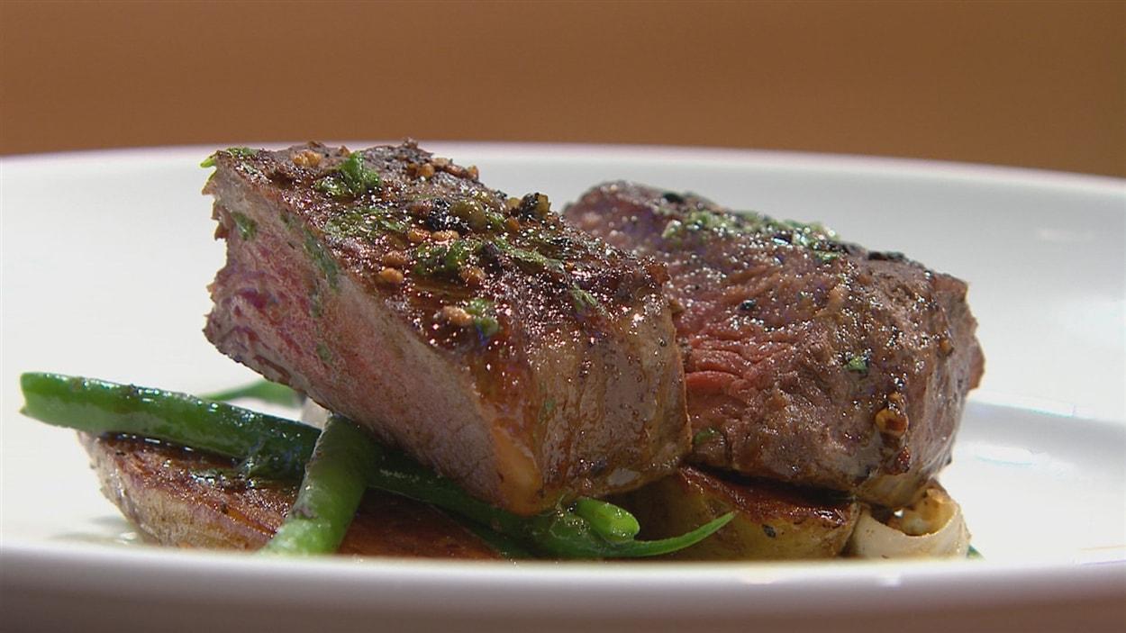 Steak aux poivres de Ian Perreault