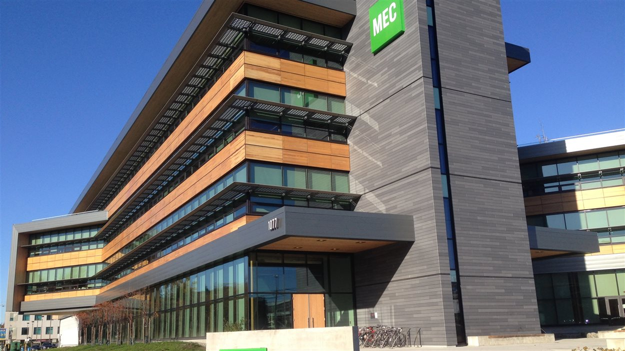 Un bâtiment certifié LEED à Vancouver.