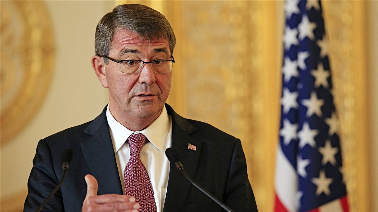 Le secrétaire américain à la Défense Ashton Carter.