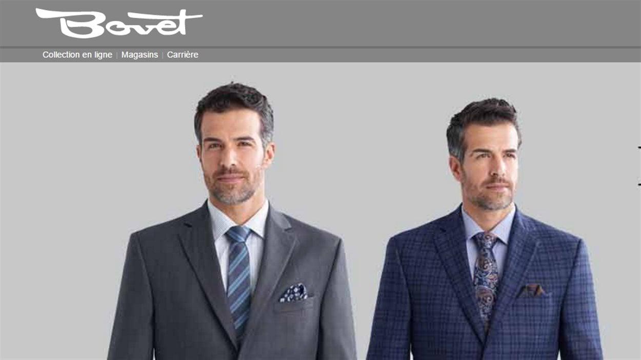 Le site web de l'entreprise