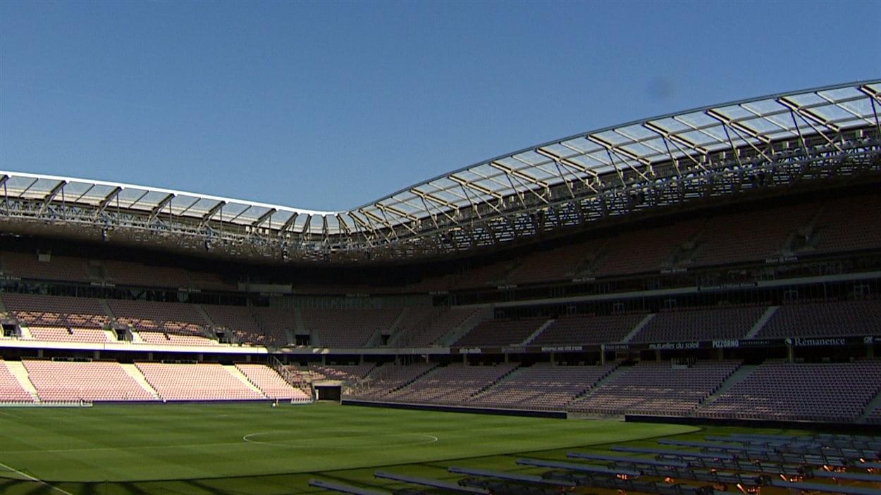 Le stade de football de Nice