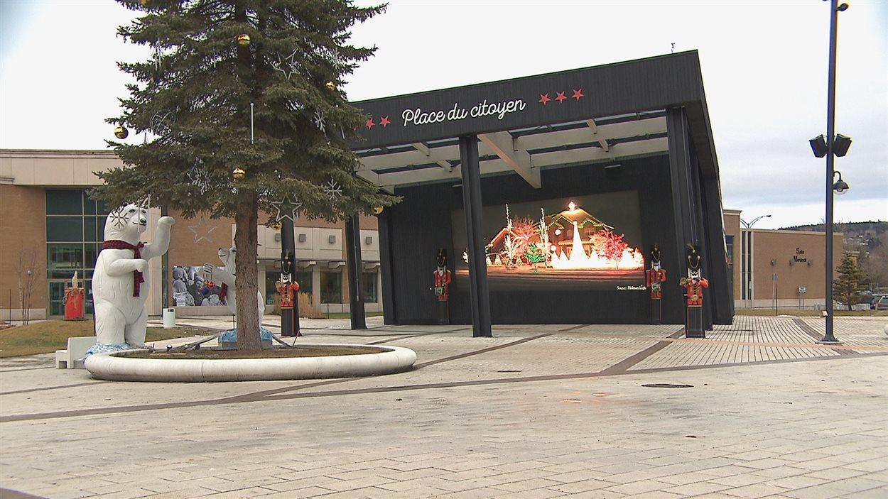 Place du citoyen, dans l'arrondissement de Chicoutimi