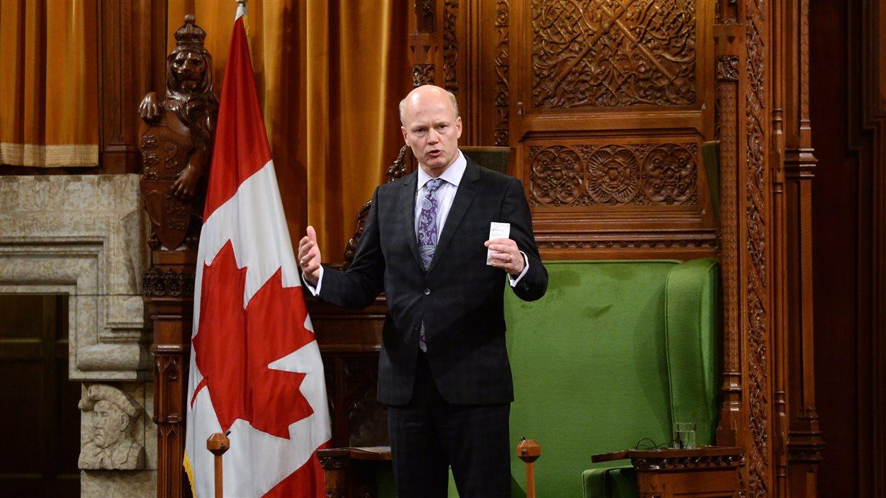 Le nouveau président de la Chambre des communes, Geoff Regan