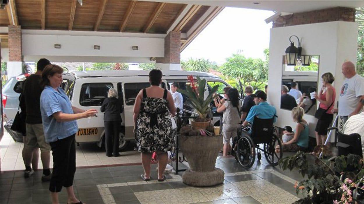 Transport, repas, examens, tout a été pris en charge lors du voyage de Katrina Baier au Costa Rica.