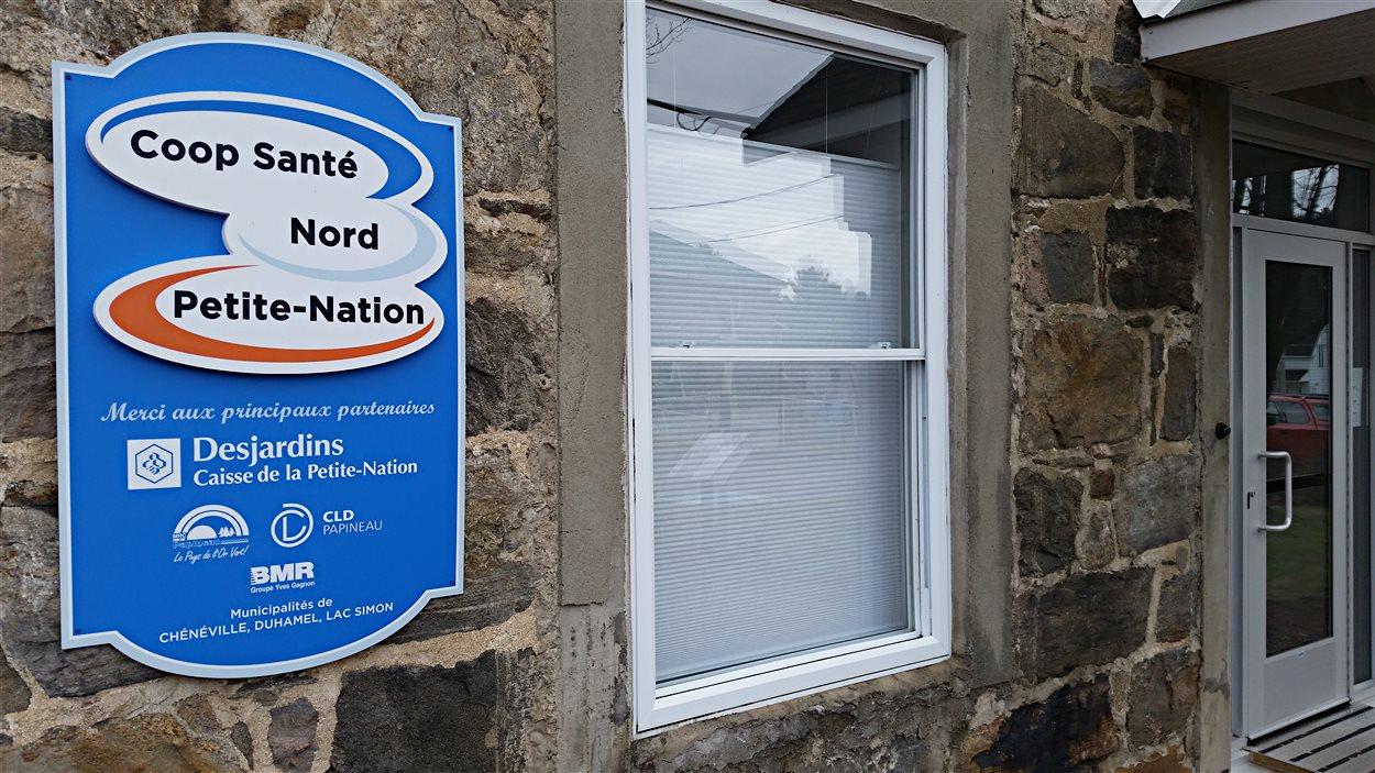 La Coopérative de santé du nord de la Petite-Nation, à Chénéville, en Outaouais.