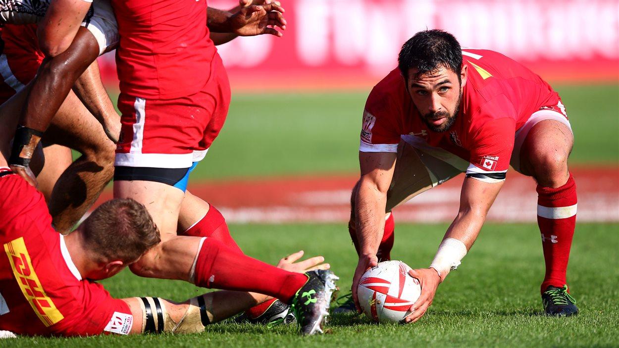 Philip Mack, de l'équipe canadienne de rugby