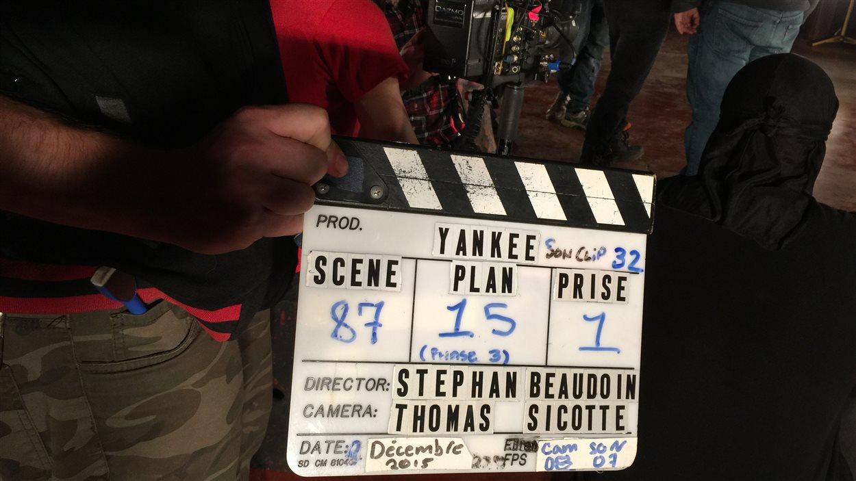 L'ancienne usine Denim Swift de Drummondville est le site du tournage du prochain long métrage du réalisateur Stéphane Beaudoin.