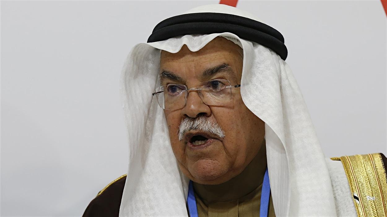 Le ministre du pétrole de l'Arabie Saoudite,  Ali Al-Naimi, à la conférence de Paris, le 8 décembe 2015.
