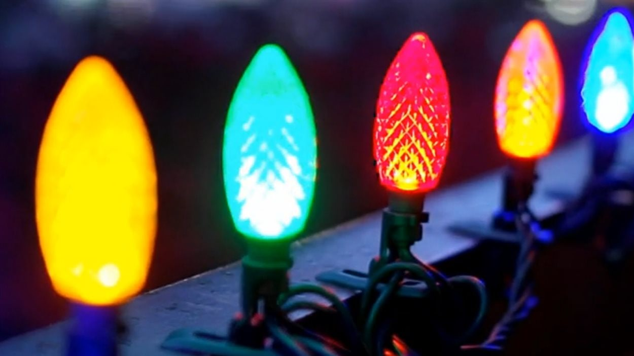 Les lumières de Noël à pince de Canadian Tire