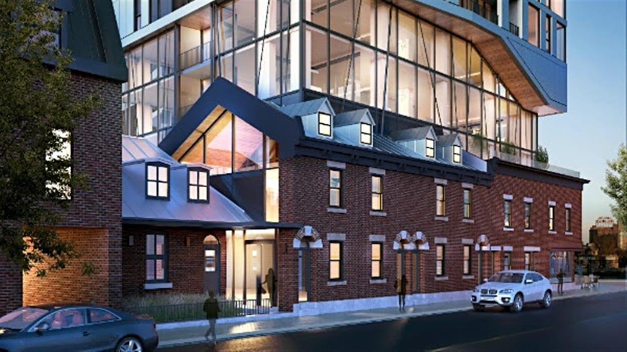 Le projet Brickfields dans le quartier Griffintown intégrera une maison de 190 ans.