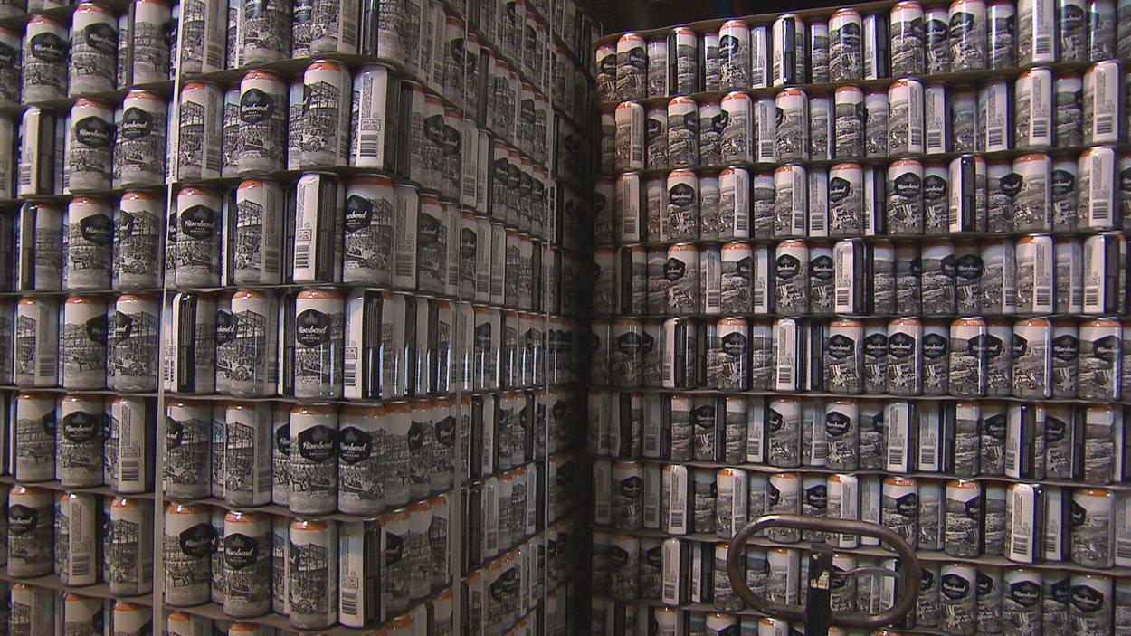 Des bières de la microbrasserie Riverbend d'Alma
