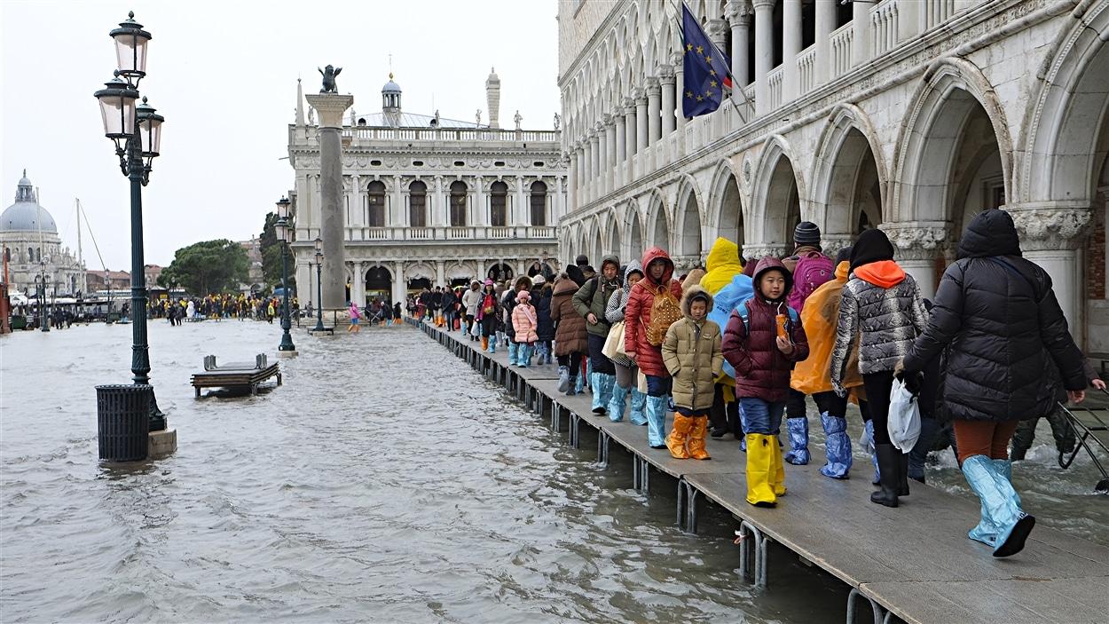 Venise, en Italie.