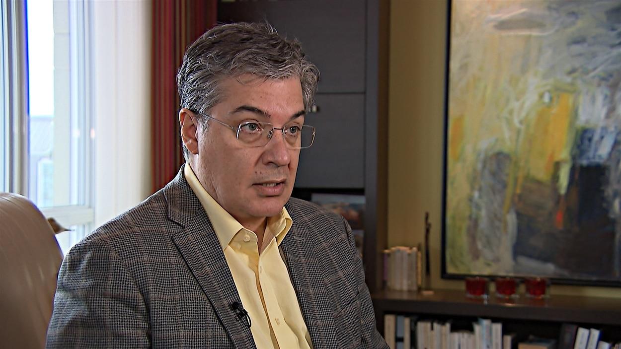 Louis Roy, médecin en soins palliatifs à Québec