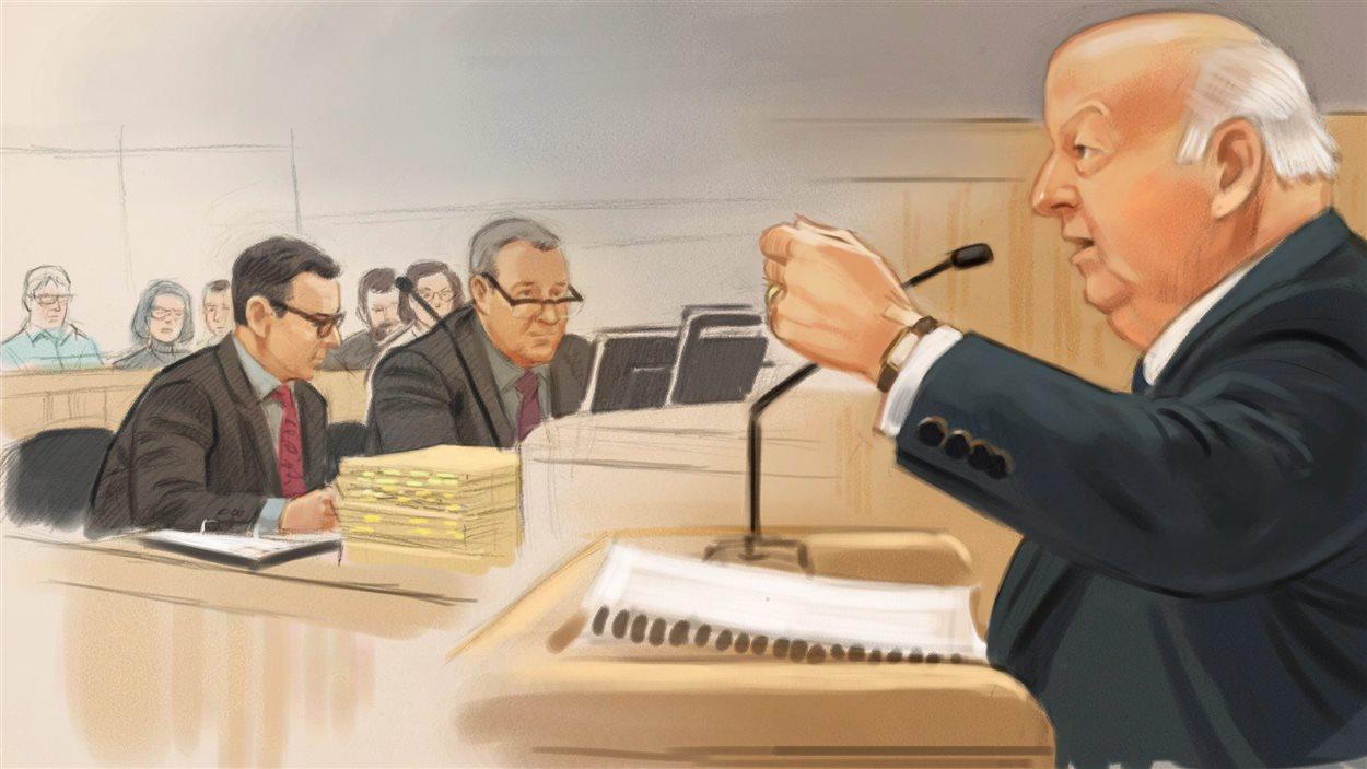 Le sénateur Mike Duffy a défendu la pertinence du rôle de conseiller que jouait son ami Gerald Donohue et des voyages effectués aux frais du Sénat pour assister à des funérailles, Au quatrième jour de son témoignage dans le cadre de son procès pour fraude, corruption et abus de confiance.