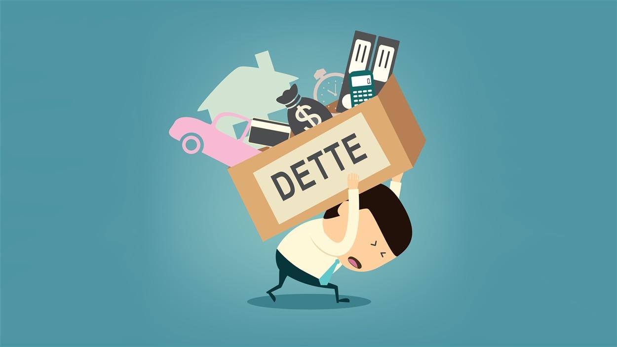 Le taux d'endettement des Canadiens est à plus de 165 % de nos revenus bruts.