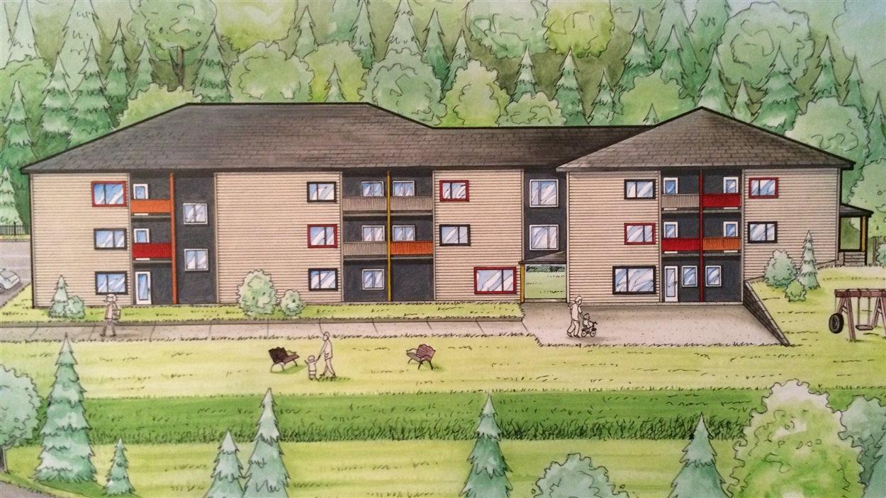 Projet de logements communautaires du CRRI à Gaspé