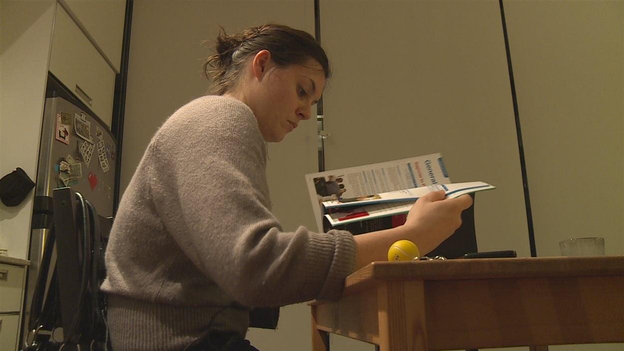 Amandine Girard fait partie de centaines de francophones qui ont choisi un test en anglais