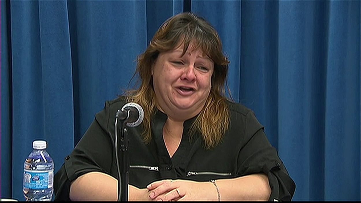 Anne Boudria demande l'aide de la population pour retrouver son mari, Yves Cyr, porté disparu depuis une semaine.