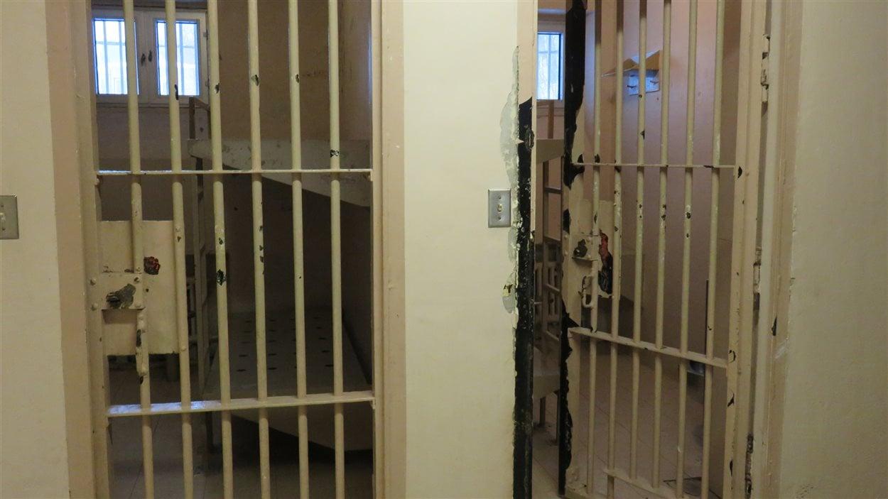 Cellules de la prison de Chicoutimi