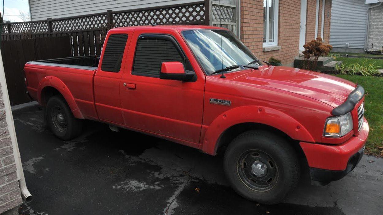 La camionnette d'Yves Cyr a été retrouvée dans l'est de Gatineau.