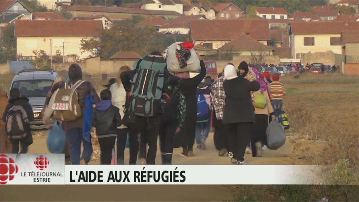 Les organisme d'aide aux réfugiés appellent à la générosité